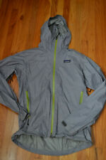 PATAGONIA LIGHTWEIGHT RIP-STOP SHELL PARKA JACKET gray mens small sm vietnam