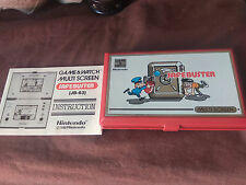 GAME & WATCH SAFE BUSTER NINTENDO MULTI SCREEN HANDHELD GAME 1983