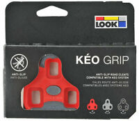 2021 Genuine LOOK Brand KEO GRIP Pedal Cleat Set 9° Fit Blade, Max, Classic: RED