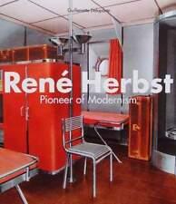 BOOK/LIVRE/BOEK/BUCH RENÉ HERBST (art deco metal/steel furniture/meuble,interior