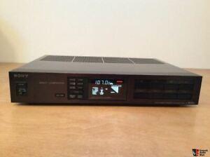 Sony FM Tuner ST-S555ES: Excellent Condition, Black HI-END ES