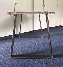 1 Stück Tischbein Trapez B 700 Stahl Design Tischkufen Tischgestell  Tisch