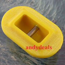 Futures Surfboard Leash Cup Plug Stainless Steel Bar  FCS, FUTURE, Yellow