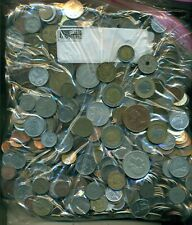 14 POUNDS of ASSORTED WORLD COINS...NICE VARIETY!  Lot #768