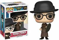 Funko POP Vinyl - Diana Prince with Shield - Wonder Woman Exclusive POP RARE