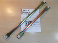 MAZDA 2.WIPER MOTOR LINKAGE PUSH ROD SET.2003-2007 Wipex KitNo73 UK Made/Stock