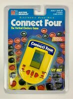 vtg NEW Connect Four Electronic Handheld Game Hasbro Milton Bradley 1995 SEALED