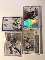 MARVIN HARRISON COLLECTION AUTOGRAPH JERSEY ROOKIE MINT LOT RC AUTO 250 CARDS