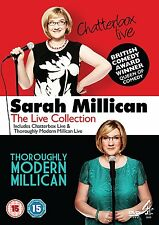 DVD:SARAH MILLICAN LIVE 1 & 2 BOXSET - NEW Region 2 UK
