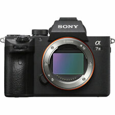 (Body Only) Sony alpha a7 III 24.2MP Mirrorless Digital Camera - Black genuine