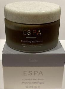 ESPA Exfoliating Body Polish Jar 180ml Brand New In Box Unopened