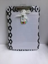All For Color Black/ White Color Clipboard And Paper Set