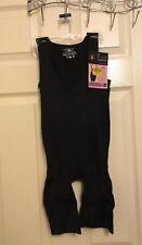 Women Seamless Full Body Long Leg Shaper By WunderWear Black Firm Control S/M