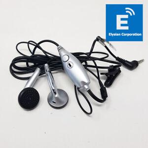 Genuine ZTE HMZ3-C4-0MTP - Headphones Handsfree - Grey - New - Fast P&P