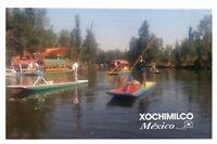 RPPC Photo Image From Irapuato Lake Xochimilco Mexico #12 PC1097