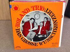 Roland Trio Das Grosse Wunschkonzert! vinyl LP MASTERTON Stereo