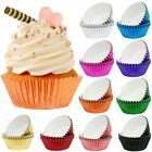 5PCS PAPER CUPCAKE CUP Aluminum Foil Muffin Baking Cups Liners Cupcakes Case