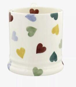 1 X Emma Bridgewater Half Pint Polka Hearts Mugs Discontinued