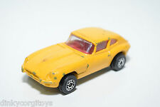 CORGI TOYS JUNIORS JAGUAR E TYPE 2+2 YELLOW EXCELLENT CONDITION