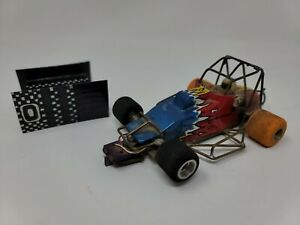 1/24 SPRINTS CAR Slot Car.  Brass Chassis