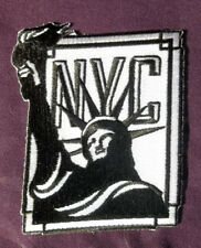 NEW YORK PATCH  STATUE OF LIBERTY NYC PATCH FREEDOM USA DIY BIKER