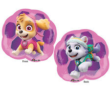 "Paw Patrol Nickelodeon Dogs Skye Everest 25"" Balloon Foil Girls Supershape"