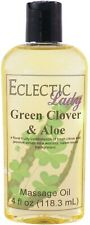 Green Clover And Aloe Massage Oil