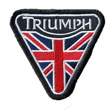 Triumph Triangle Flag - Embroidered Motorcycle/Biker Patch