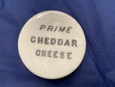 """GRAFTON CHINA """"PRIME CHEDDAR CHEESE"""" WITH MATCHING CREST CHEDDAR-FLORAL & VERSE"""