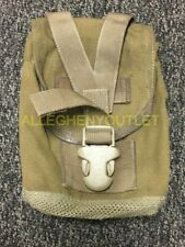 USMC MOLLE 1qt Canteen Pouch Coyote Brown NSN 8465-01-516-7976 VERY GOOD