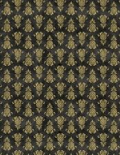 Wilmington The Way Home by Jennifer Pugh 82502 955 Black Pineappl Cotton Fabric