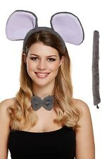 Ladies Elephant Animal Hen Do Party Halloween Fancy Dress Costume Outfit Kit
