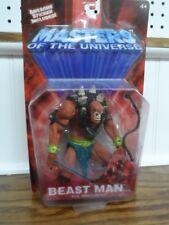 2001 Mattel MOTU Beast Man Evil Henchman MOC