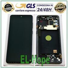 DISPLAY LCD ORIGINALE SAMSUNG GALAXY NOTE 10 LITE SM-N770 F TOUCH SCREEN NERO