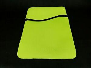Neoprene Computer Sleeve - Laptop, Notebook, Tablet ~ Neon Lime Green, #PL-3804