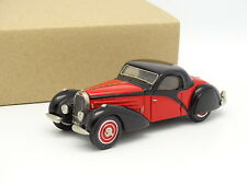 Ma Collection Résine 1/43 - Bugatti 57 Atalante Noire et Rouge 1936