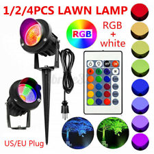 1/2Pcs 20W LED RGB Flood Light Outdoor Garden Landscape Wall Yard Path Lawn Lamp