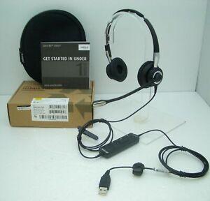 Jabra BiZ 2400 II Duo USB Headband  Computer Headset 2499-823-309 for Microsoft
