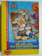 Der Bär im großen blauen Haus Remus Spiel Wo hat sich der Bär versteckt? wie neu