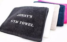 EMBROIDERED PERSONALISED LUXURY SPORTS Fitness Gym TOWEL 30x100 Gift or business