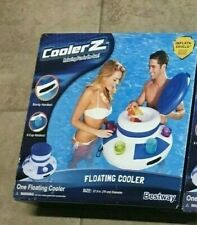 Floating Inflatable Beer Cooler Drink Holder Pool Party 6 Cups
