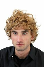 Male Wig, Wig, Mens, Men, Curly, Blonde, Length: approx. 5 7/8In, gfw963-19