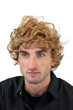 Herrenperücke, Wig, Männer, Men, Lockig, Blond, Länge: ca. 15 cm, GFW963-19