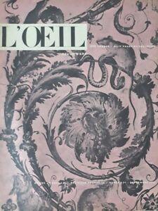 L'Oeil n°21 - Revue d'Art