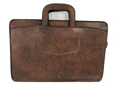 Vintage Pegasus Mens Attache/Briefcase/Portfolio/Document Bag Brown Leather USA