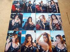 SET OF 12 4X6 PHOTOS OF ASIANS IMPORT CAR MODEL KAI LANSANGAN AKA XENA KAI Z-6