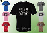 Men T-Shirt - Stronger Than Cancer