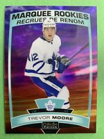2019-20 OPC Platinum Marquee Rookie Sunset #160 Trevor Moore Toronto Maple Leafs