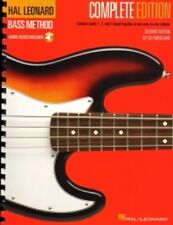 HAL LEONARD BASS METHOD COMPLETE 2nd Edition Book & Audio Downloads