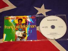 FRANCOIS FELDMAN-Elle est bien Bottrop belle 3 trk Maxi CD 1993